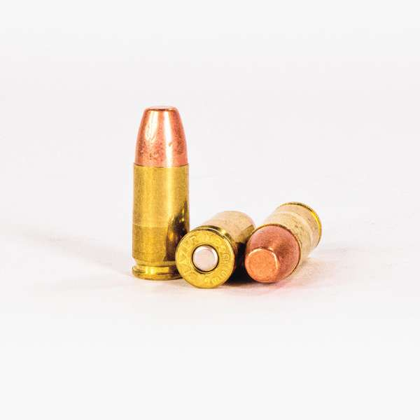 9mm Luger 147gr FMJ Blazer Brass 5203 Ammo Rounds