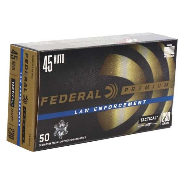Federal P45HST2 45 ACP Ammo