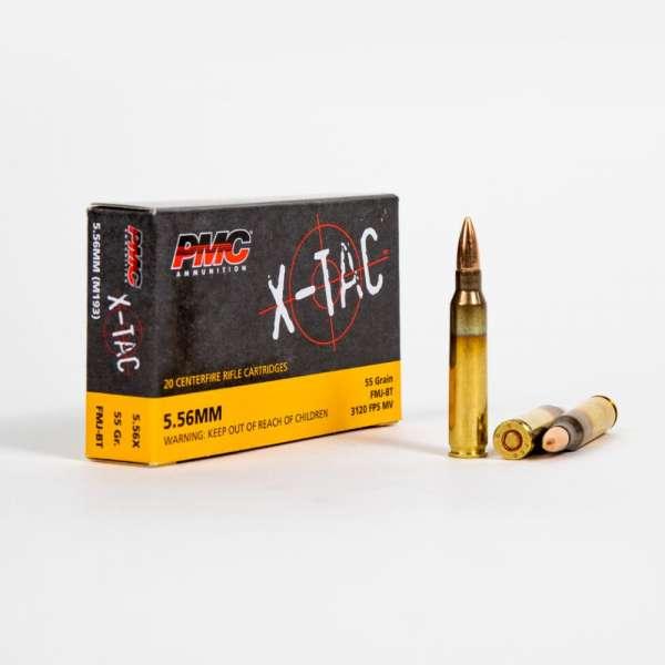 PMC 5.56X 5.56x45mm 55 Grain FMJ Box Front