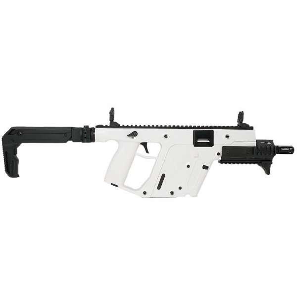 kriss vector sbr enhanced 9mm 65 alpine white kv90 sap30ca1